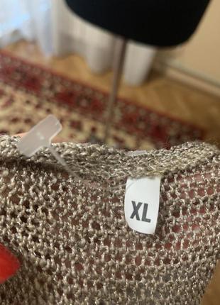 Ажурная туника,размер xl,  50-52.5 фото