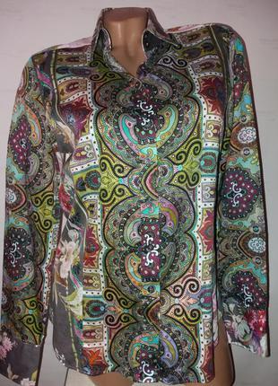 Красивая стильная блузка рубашка с длинным рукавом1 фото