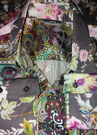 Красивая стильная блузка рубашка с длинным рукавом3 фото