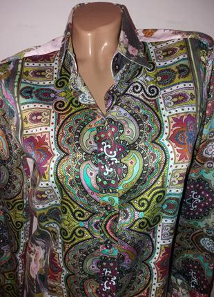 Красивая стильная блузка рубашка с длинным рукавом2 фото