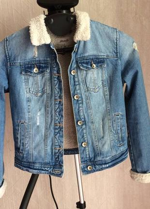 Шерпа джинсовая3 фото