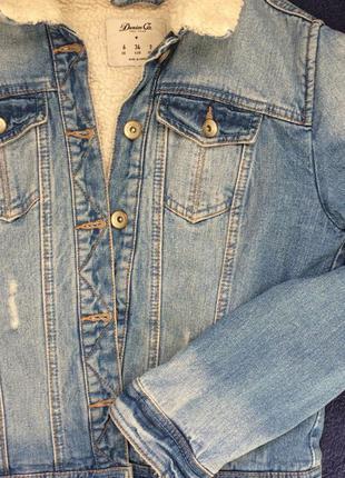 Шерпа джинсовая2 фото
