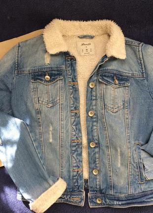 Шерпа джинсовая1 фото