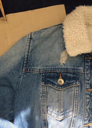 Шерпа джинсовая4 фото