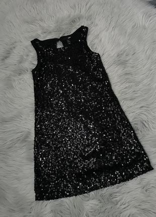 Чорна вечірня сукня1 фото