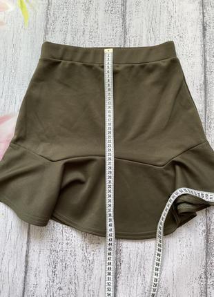 Крутая юбка рюши prettylittlething размер s2 фото