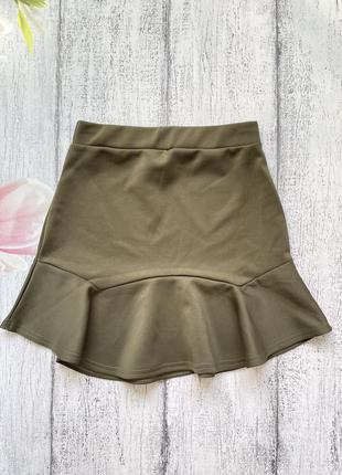 Крутая юбка рюши prettylittlething размер s1 фото