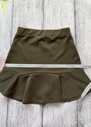 Крутая юбка рюши prettylittlething размер s3 фото