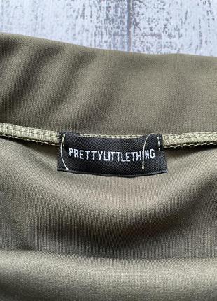 Крутая юбка рюши prettylittlething размер s4 фото