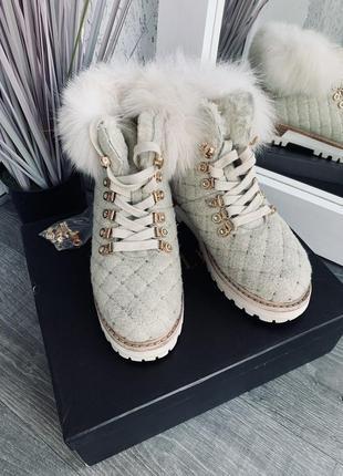 Ботинки le silla зимние2 фото