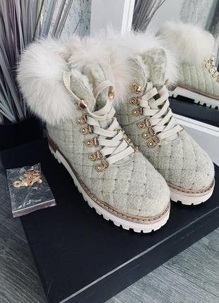 Ботинки le silla зимние3 фото