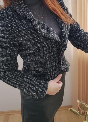 Твидовый пиджак, жакет3 фото