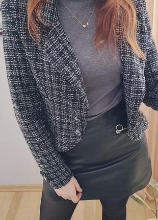 Твидовый пиджак, жакет1 фото