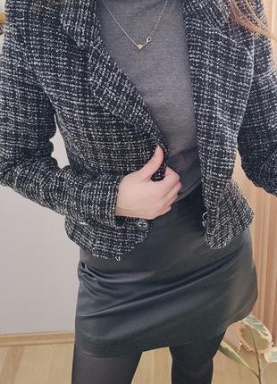 Твидовый пиджак, жакет2 фото