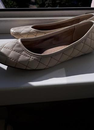 Балетки в стиле chanel туфли шлепанцы босоножки