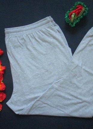 Шикарные трикотажные спортивные штаны супер батал высокая посадка jacamo 🍒🍓🍒6 фото