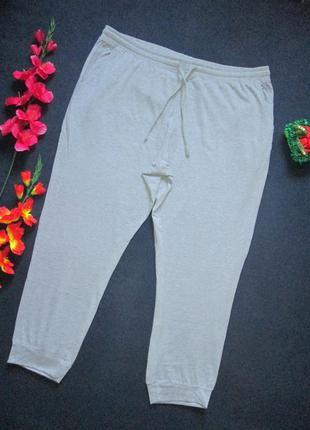 Шикарные трикотажные спортивные штаны супер батал высокая посадка jacamo 🍒🍓🍒2 фото