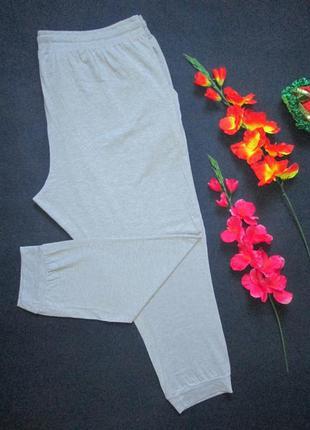Шикарные трикотажные спортивные штаны супер батал высокая посадка jacamo 🍒🍓🍒5 фото