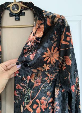 Amisu бархотный пиджак блейзер м-l размер1 фото
