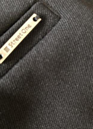 Роскошные крутые брюки с ширинкой на запах, высокая посадка с эко-кожаным поясом, м/л❤️🔥💋6 фото