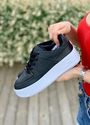 Nike air force 1 🍏 стильные женские кроссовки найк форси