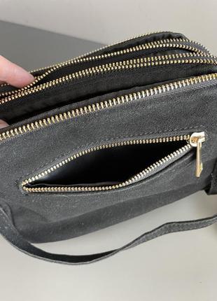 Замшевая сумочка6 фото