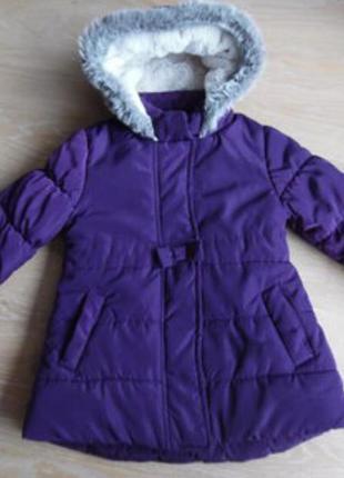 Куртка-пальтишко 2-3 года зима
