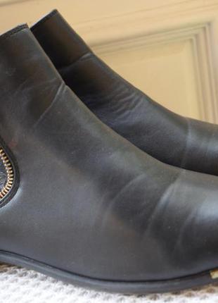 Ботинки полусапоги челси утепленные rieker р.42 27.5 см2 фото