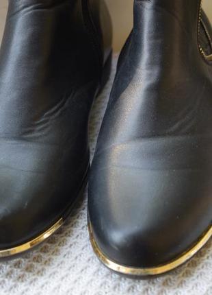 Ботинки полусапоги челси утепленные rieker р.42 27.5 см3 фото