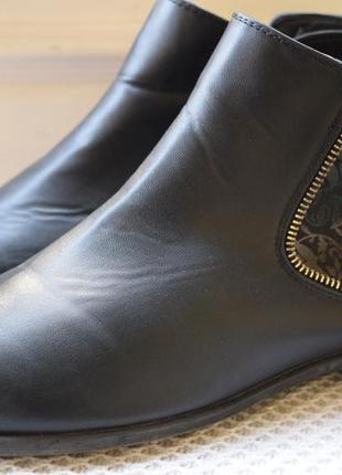 Ботинки полусапоги челси утепленные rieker р.42 27.5 см1 фото