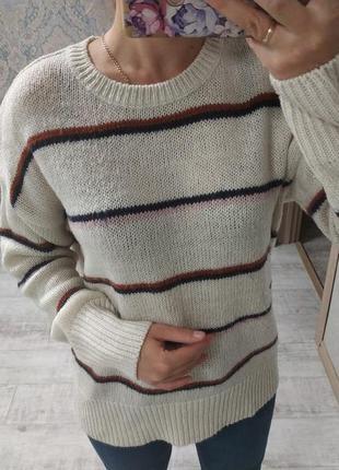Стильный базовый свитер оверсайз1 фото