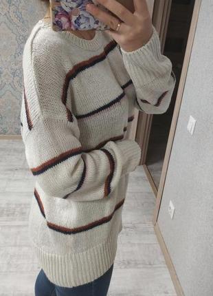 Стильный базовый свитер оверсайз3 фото