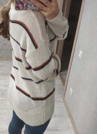 Стильный базовый свитер оверсайз7 фото