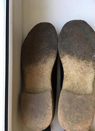 Кожаные лодочки туфли на манке  office3 фото