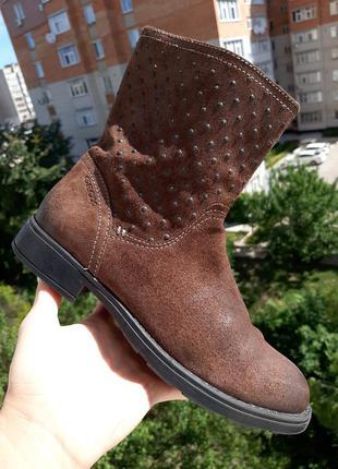 Geox итальянские ботинки полусапоги 36 размер