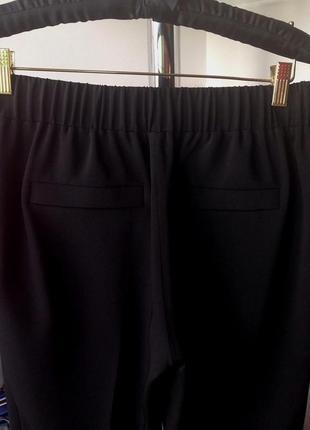 """Премиум бренд - мега-комфортные брюки """"gizia casual"""" черного цвета3 фото"""