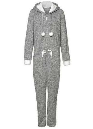 Кигуруми, теплый комбинезон esmara, вязаный комбинезон, одежда для дома и отдыха⭐🌸5 фото