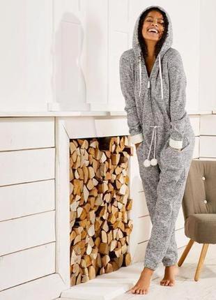 Кигуруми, теплый комбинезон esmara, вязаный комбинезон, одежда для дома и отдыха⭐🌸1 фото