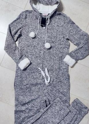 Кигуруми, теплый комбинезон esmara, вязаный комбинезон, одежда для дома и отдыха⭐🌸2 фото