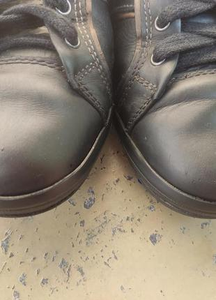 Кожаные кроссовки, кеды geox6 фото