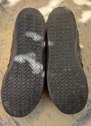 Кожаные кроссовки, кеды geox4 фото