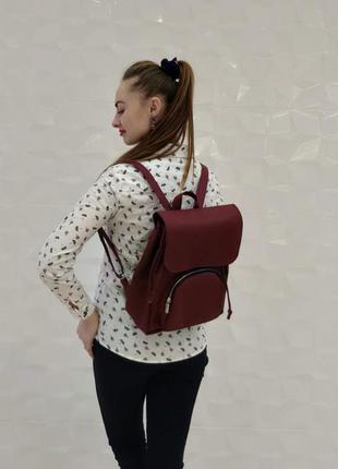 Серый вместительнй женский рюкзак , на учебу, для активного образа жизни, для прогулки