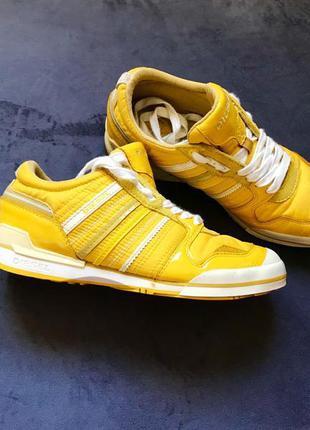Яркие жёлтые кроссовки diesel оригинал натуральный замш лак р.371 фото