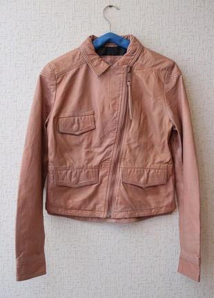 Кожаная куртка косуха diesel1 фото