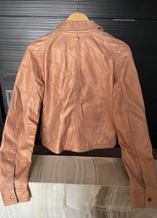 Кожаная куртка косуха diesel4 фото