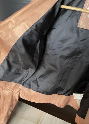 Кожаная куртка косуха diesel9 фото