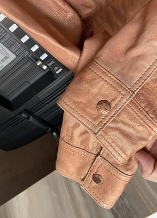 Кожаная куртка косуха diesel7 фото