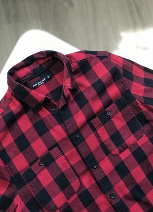 Рубашка в клетку , рубашка женская2 фото