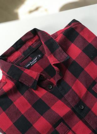 Рубашка в клетку , рубашка женская4 фото