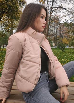 Красивая куртка зефирка
